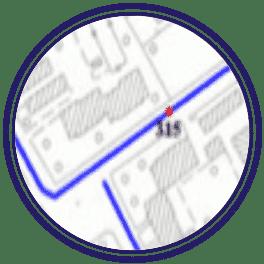 mappature • RETI IDRICHE E FOGNANTI
