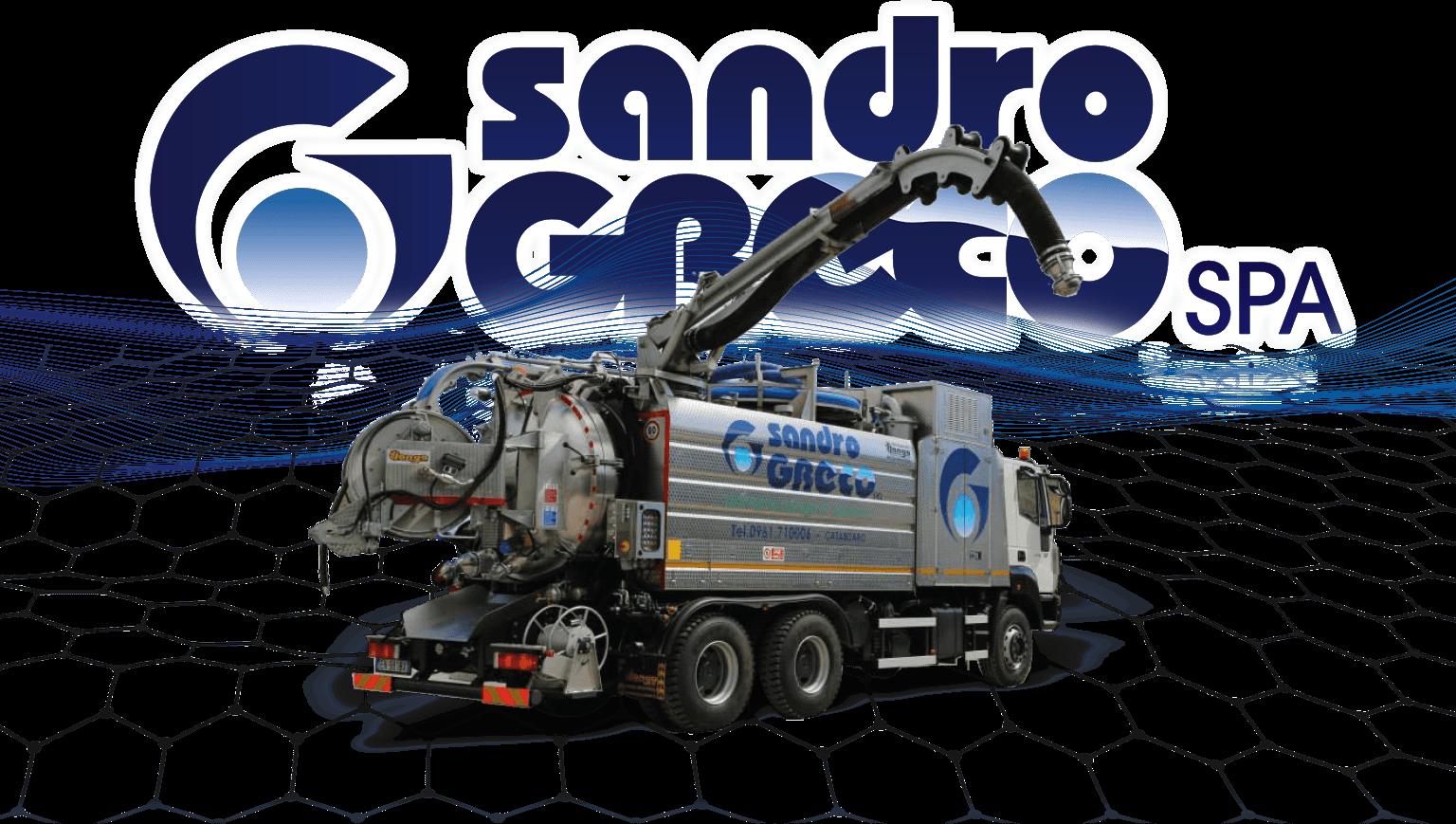 testata autospurgo • SandroGreco Srl • La Sandro Greco srl è al servizio dell'ecologia e della manutenzione idrica e fognante.